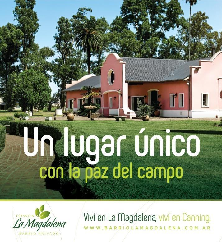 venta terreno barrio la magdalena canning barrio green 31