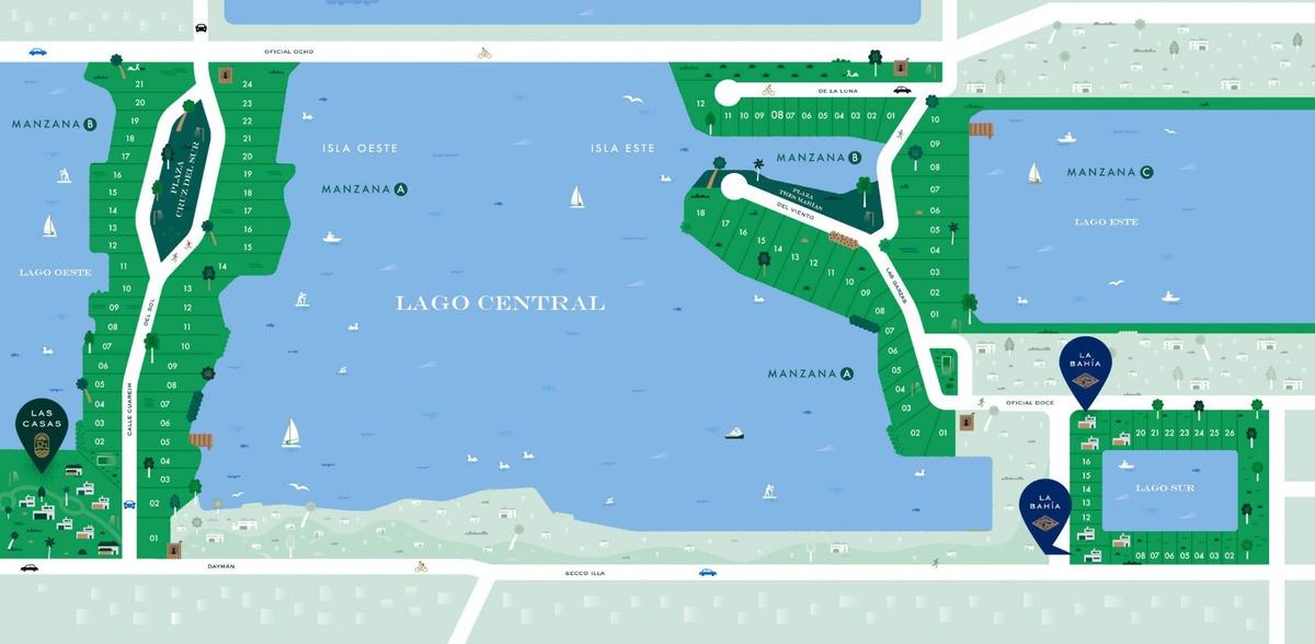 venta terreno barrio privado lagos
