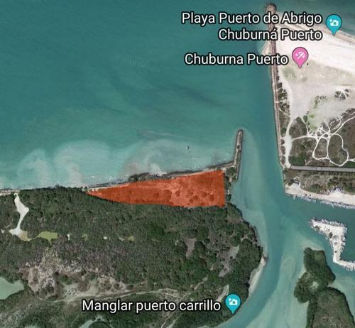 venta terreno  chuburna puerto  3km de playa folio mtpv-109