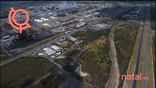 venta terreno comercial e industrial en cadereyta