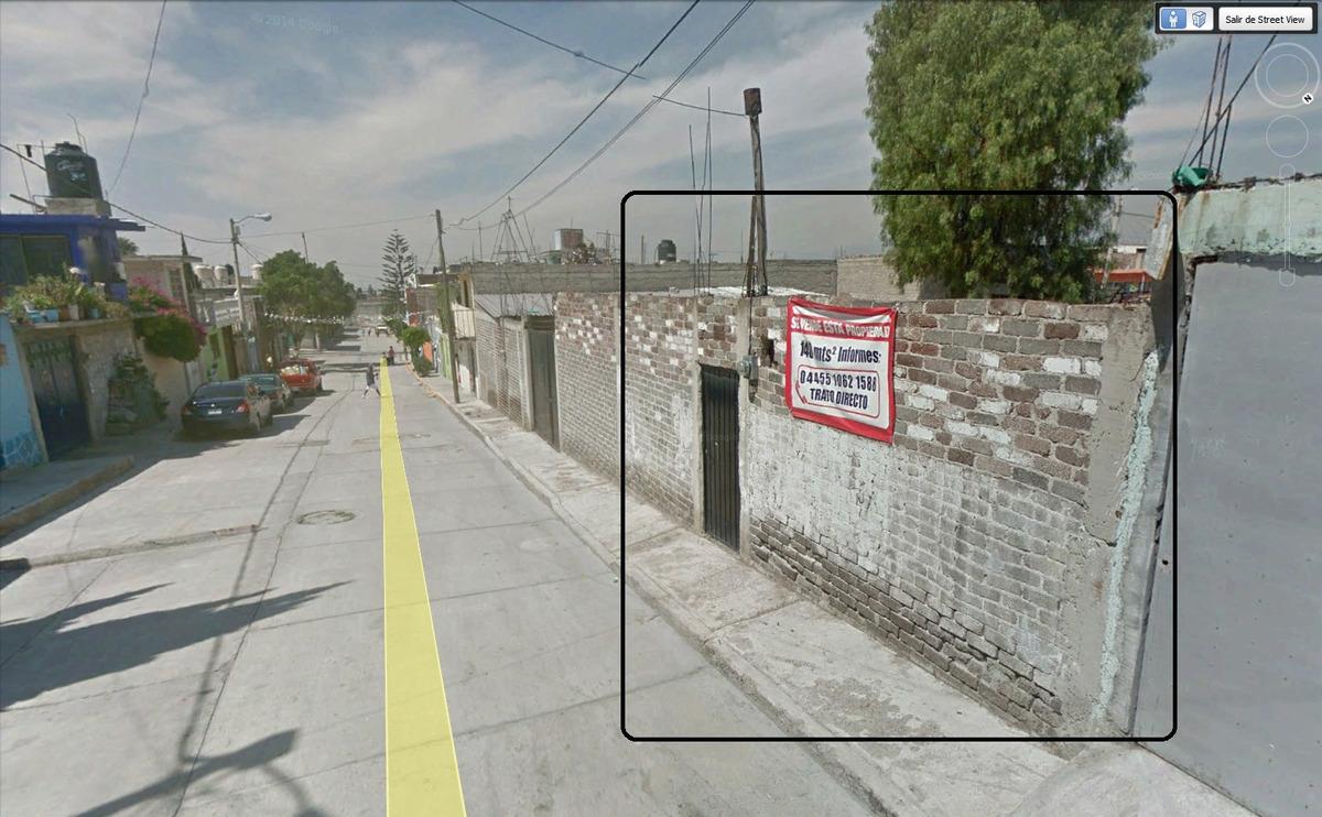 venta terreno ecatepec, cdad.cuauhtemoc, 120m