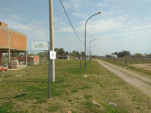 venta terreno en alvear - los troncales del sur - financiado 15 o 18 cuotas