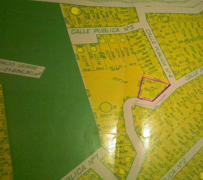 venta terreno en b° caribe - agua de oro