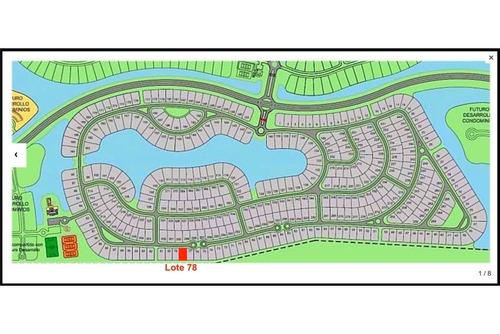 venta terreno en barrio acacias -puertos del lago