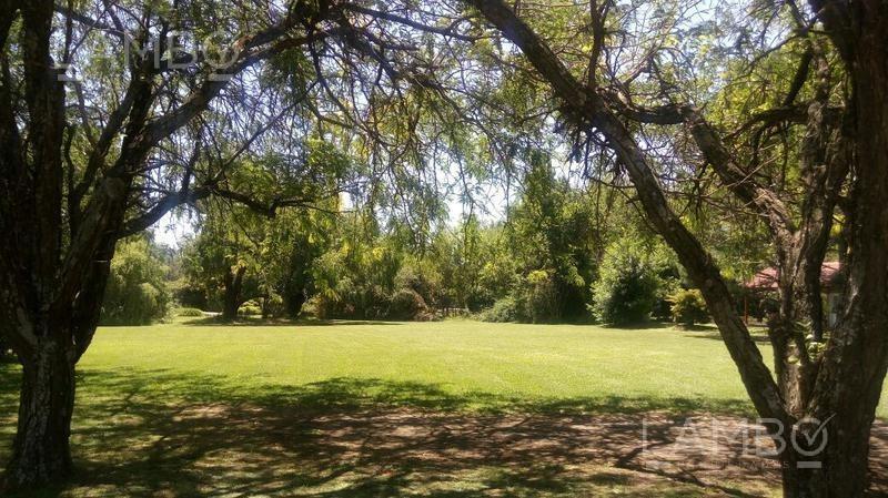 venta terreno en barrio chacras de murray