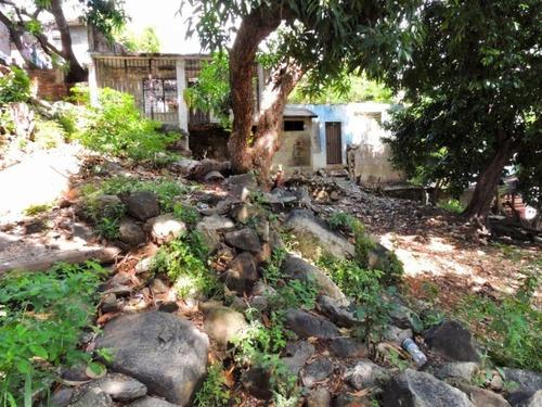 venta. terreno en col. jardín, acapulco