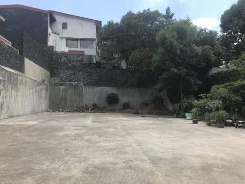 venta terreno en colonia jardines del ajusco, calle samahil