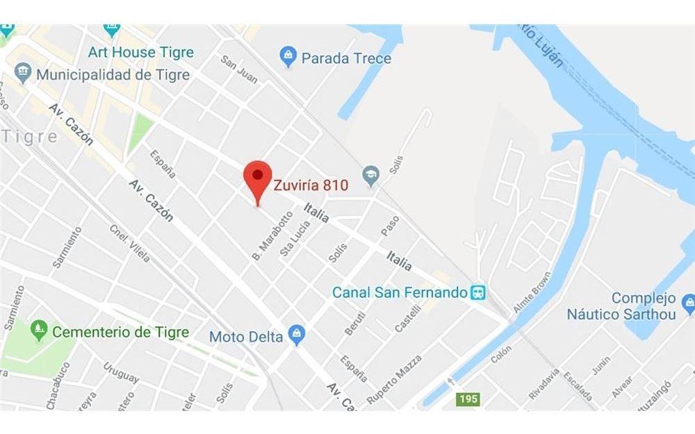 venta terreno en tigre 572 m2. oportunidad