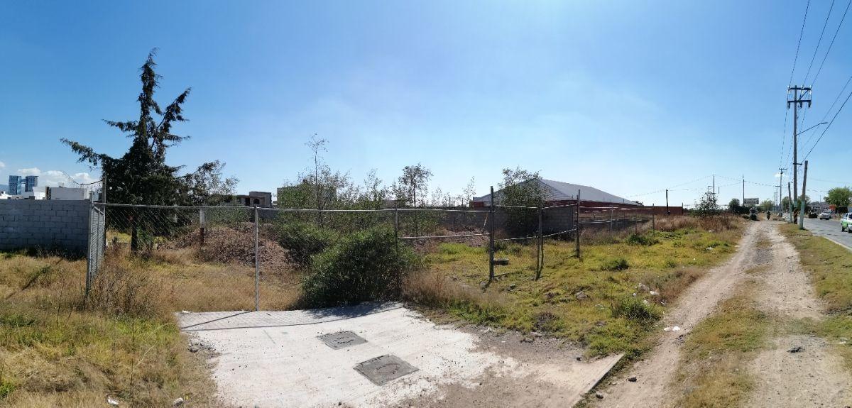 venta terreno frente a verificentro sobre blvd ramón g bonfil pachuca