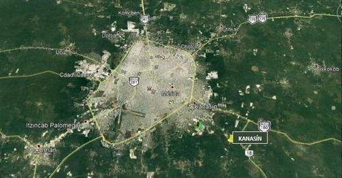 venta terreno kanasín muy cerca del nuevo proyecto sky capital