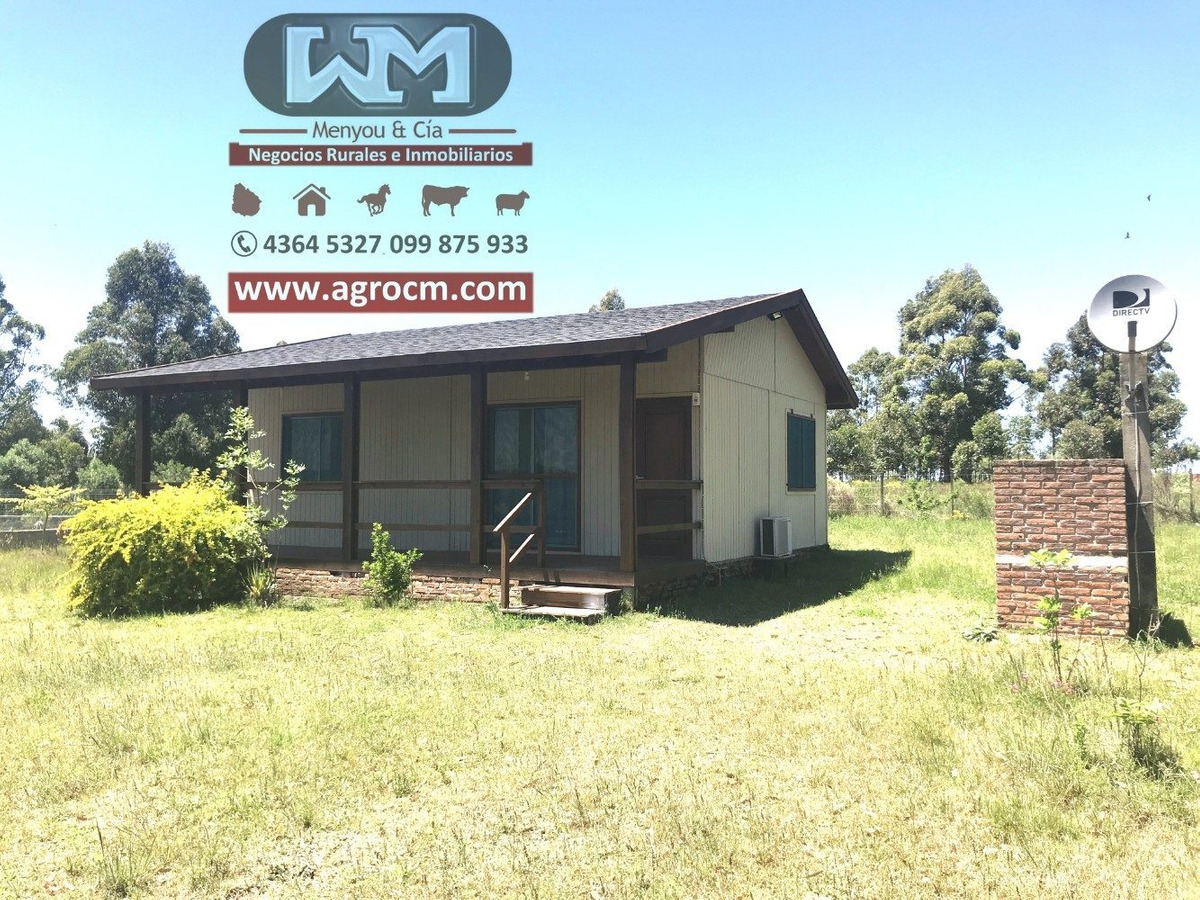 venta terreno lagos de andresito 1000 m2 cabaña 2 dormitorio