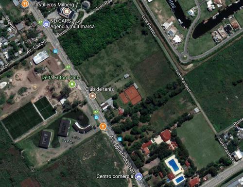 venta terreno (manzana) - ruta 27 tigre