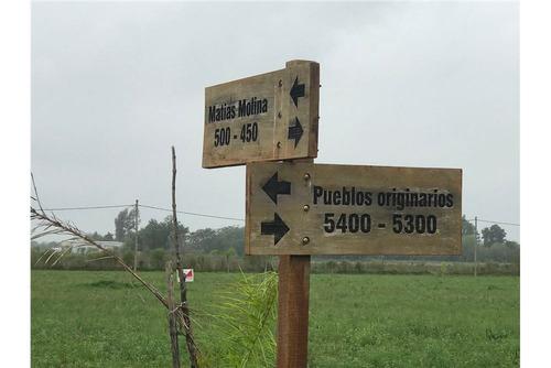 venta: terreno muy buenas dimensiones r 1 km 10
