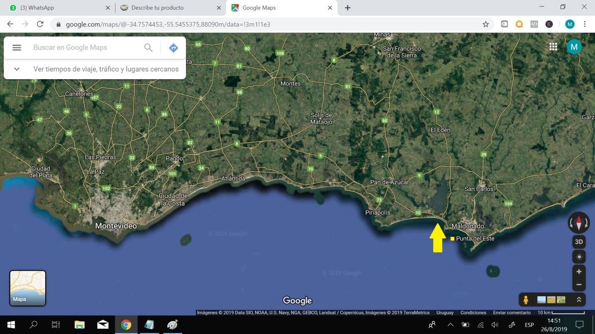 venta terreno ruta interb - ocean park - oferta financio