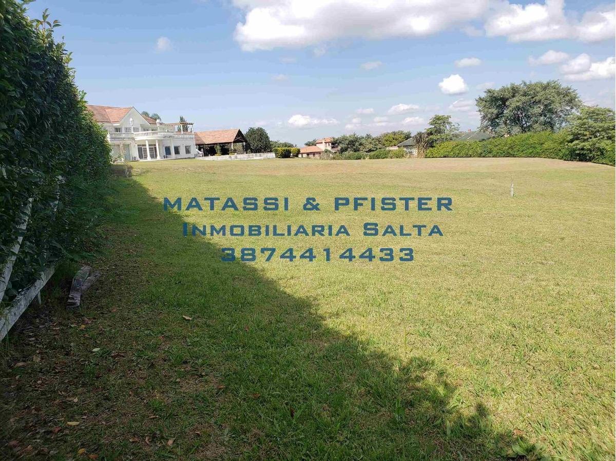 venta terreno salta barrio el tipal-  matassi & pfister