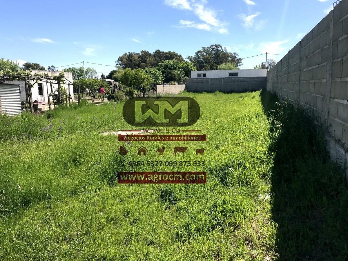 venta terreno trinidad flores 528 m2 con muros y ose colocad