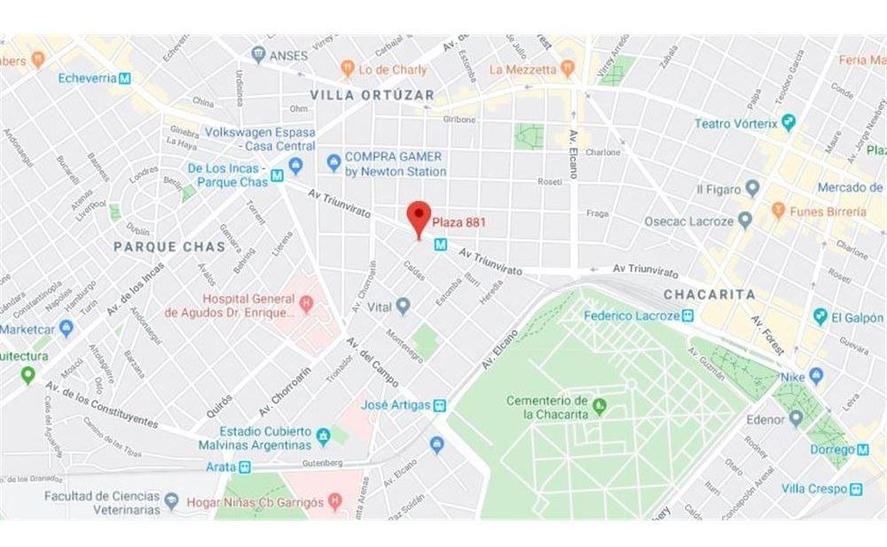 venta terreno villa ortuzar (subte b)