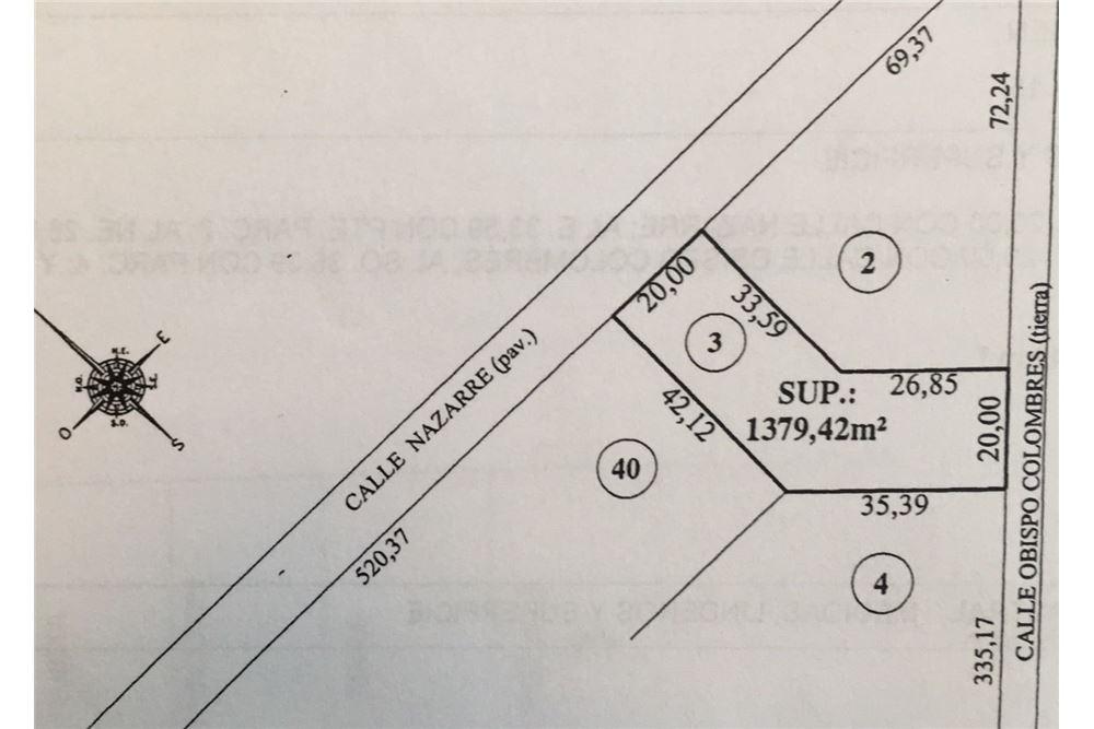 venta terreno, zelaya, pilar sin expensas