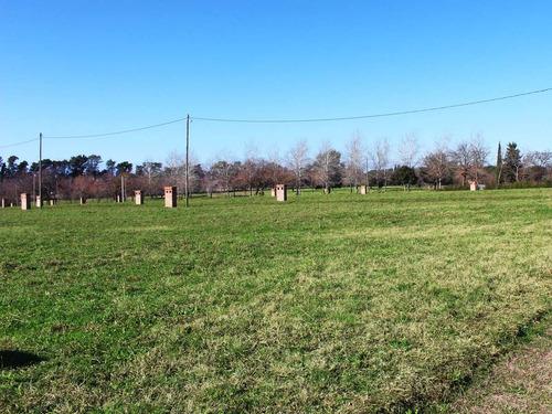 venta terrenos  escobar km 50. financiado en 120 cuotas en $