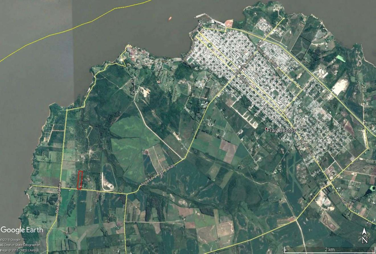 venta terrenos fracciones desde 5000 m2 fray bentos uruguay