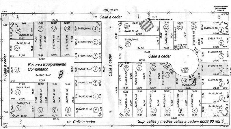 venta terrenos lotes ideal para casa inversion barrio moreno