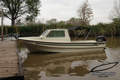 venta tracker cabinada,baader track 700,ideal pesca deportiv