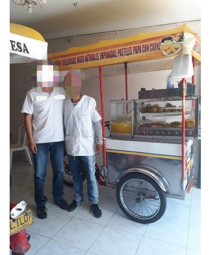 venta triciclo de fritanga y jugos