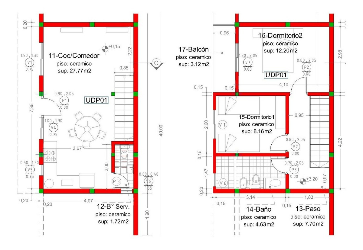 venta - varias unidades de 2 y 3 ambientes en colón, entre ríos