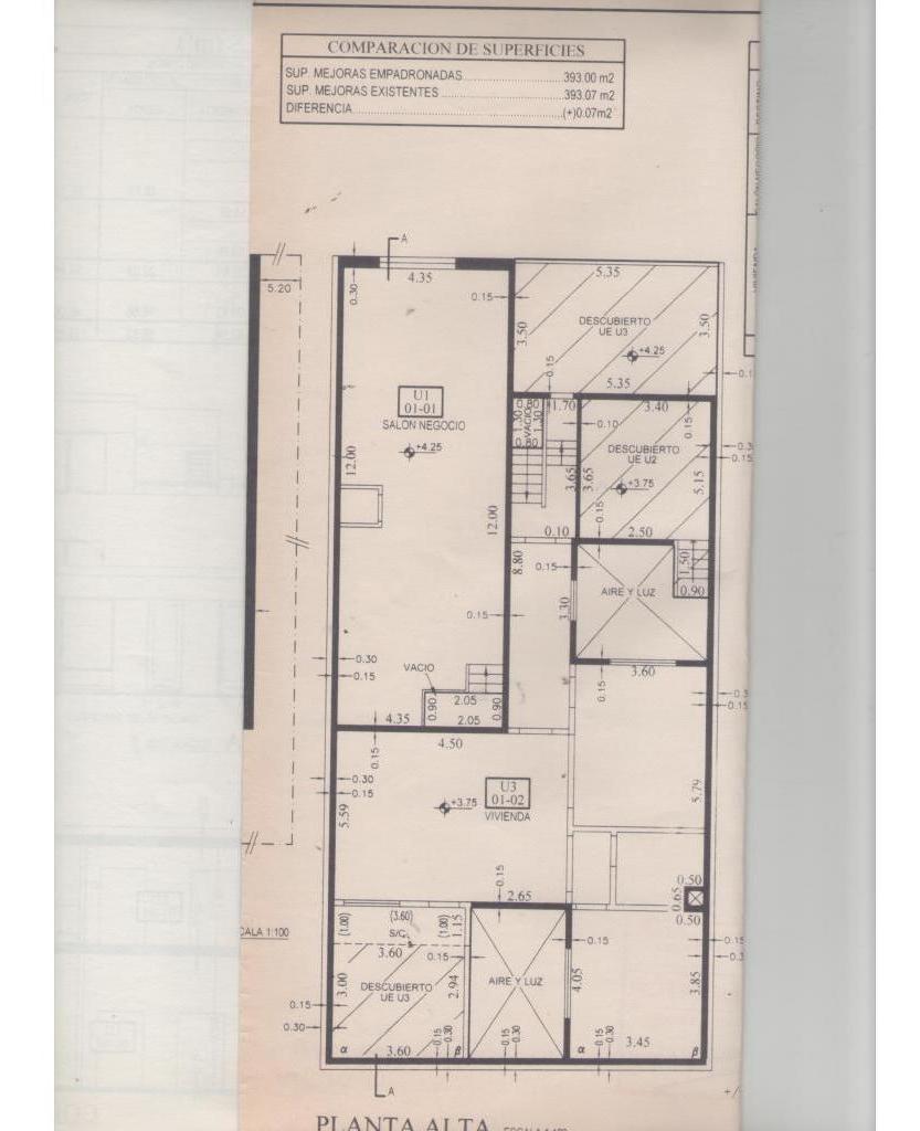 venta velez sarsfield 1215 planta alta
