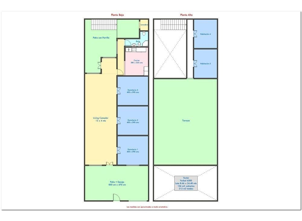 venta villa luro lote 8.78 x 25 765 m2 vendibles
