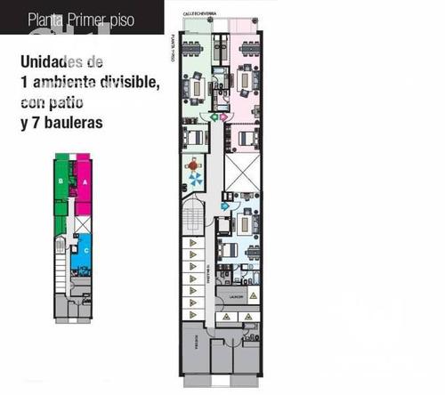 venta  villa urquiza 1 ambientes divisible desde el pozo - uf 3
