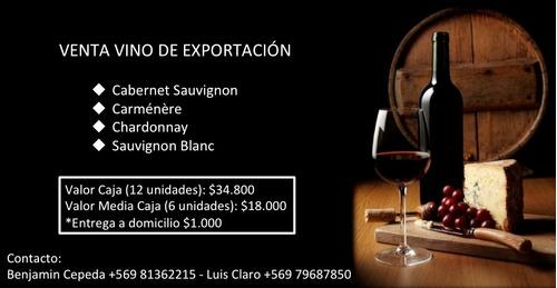 venta vino de esportacion