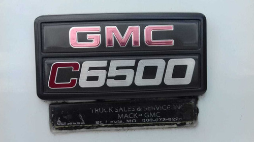 venta volqueta gmc c6500 año 2001 original americana