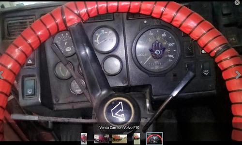 venta volvo f10 año 1982 con carreta