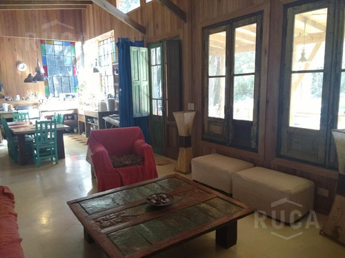 venta y alq verano   hermosa casa de madera, parque y pileta   las chacras, ing. maschwitz