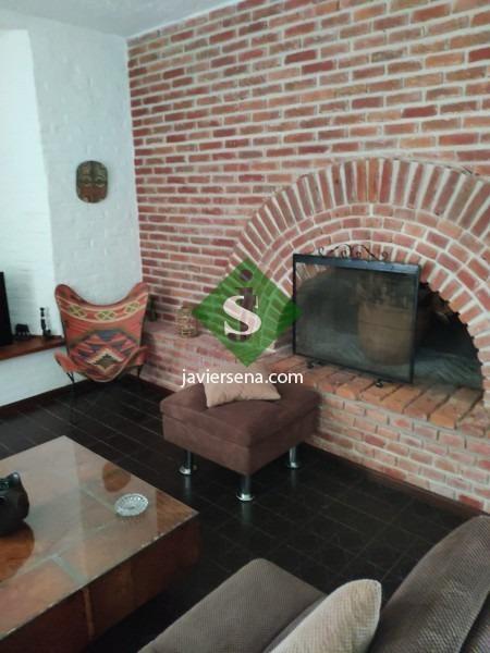 venta y alquiler de cabaña en pinares, 5 dormitorio, 3 baños, lindo lugar.  - ref: 166976