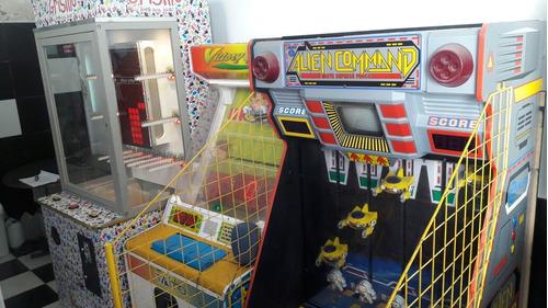 venta y alquiler de flippers, maquinas de arcade y fichines.