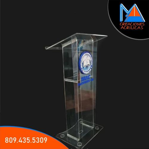 venta y alquiler de todo tipo de podium acrilico
