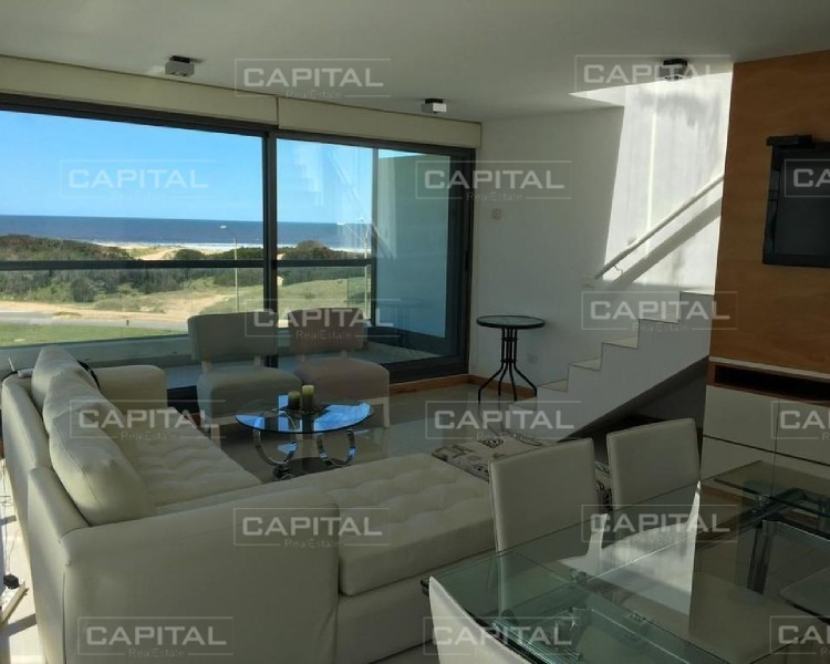 venta y alquiler temporario de pent house playa brava - primera linea - punta del este-ref:26732