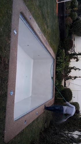 venta y aplicación de revestimiento diamond de piscina
