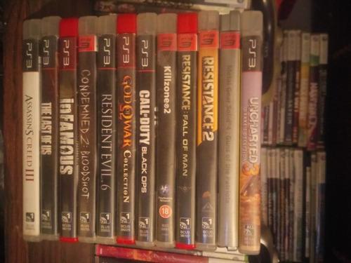 venta y cambio juegos ps3 originales