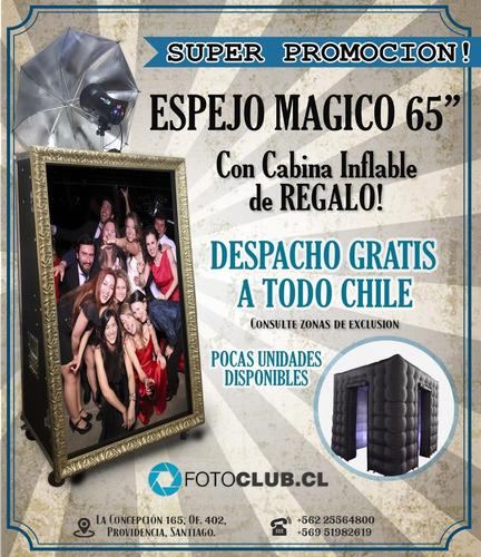 venta y fabricación  espejo mágico the magic mirror fotoclub