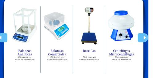 venta y mantenimiento de basculas balanzas y equipos de labo