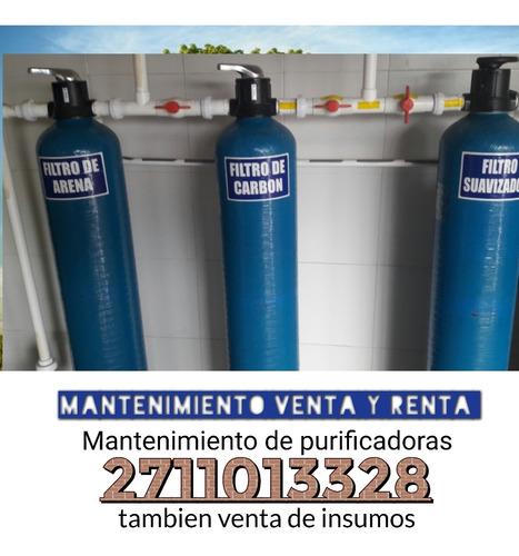venta y mantenimiento de purificadoras de agua