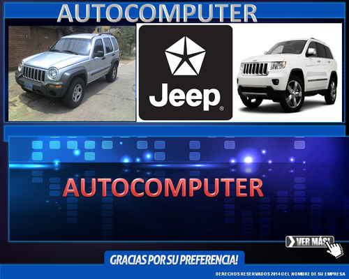 venta y programacion de computadoras de jeep,dodge y chrysle