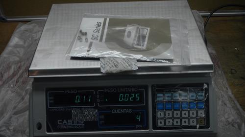 venta y reparacion  balanzas cas nuevas en caja