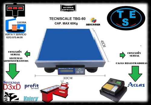 venta y reparacion de balanzas electronicas