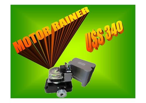 venta y reparación de motores de portones y rampas