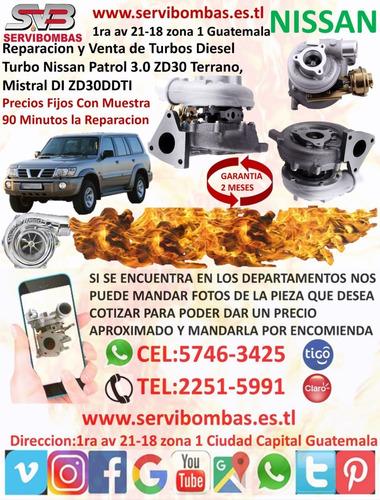 venta y reparacion de turbos diésel nissan x-trail 2.2 guat