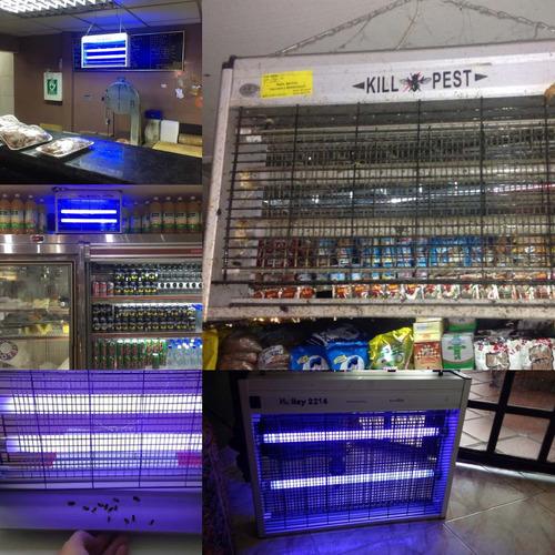 venta y revisión de lámparas matamoscas tubos fluorescentes